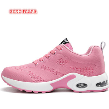 Air Cushioning Sneakers Running Shoes For woman Sport Shoes Women Jogging Walking Breathable Gym Outdoor Shoes Athletic Trainers